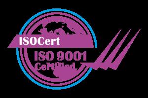 ISO 9001_ISOCert Logo